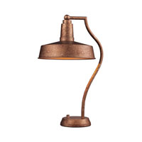Dimond Lighting Walden 1 Light Table Lamp in Bellwether Copper 65132-1 photo thumbnail