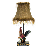 Petite Rooster 19 inch 40 watt Ainsworth Table Lamp Portable Light