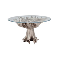 Lazy Susan by Dimond Lighting Teak Root Entry Table in Champagne Gold 7011-003