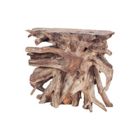 Dimond Home Teak Slice Console in Natural 7011-006