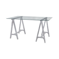 Lazy Susan by Dimond Lighting Coastal Cool Architects Desk in Sandblasted Light Grey 7011-011