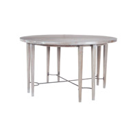 Lazy Susan by Dimond Lighting Empire Stretcher Entry Table in Restoration Grey 7011-042