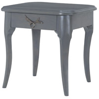 Edward 20 X 20 inch Antique Smoke Side Table Home Decor