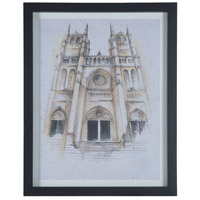 National Cathedral Black Mahogany Wall Decor