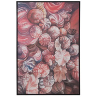 Dimond Lighting Pink Candies Wall Decor in Hand Painted Art,Signature Black 7011-556