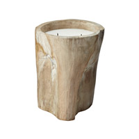 Lazy Susan by Dimond Signature Log Candle in Tan 784043