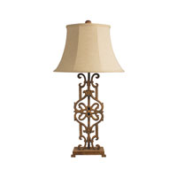 Dimond Lighting Iron Relic 1 Light Table Lamp in Albion Bronze 84-012