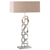 Dimond Essence 1 Light Table Lamp in Nickel 8468-065
