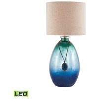 Kingfisher 24 inch 9.5 watt Pacific Blue Mercury Table Lamp Portable Light in LED