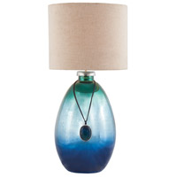 Kingfisher 24 inch 100 watt Pacific Blue Mercury Table Lamp Portable Light in Incandescent