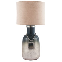 Dimond Lighting Iceland 1 Light Table Lamp in Iceland Mercury 8468-089