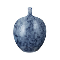 Lazy Susan by Dimond Midnight Marble Bottle in Blue 857052