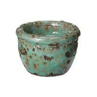 Lazy Susan by Dimond Rustic Votive in Green 857068