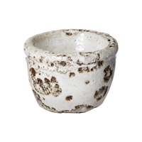 Lazy Susan by Dimond Rustic Votive in White 857069