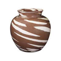 Lazy Susan by Dimond Caramel Vase in Brown 857076