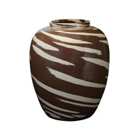 Lazy Susan by Dimond Caramel Vase in Brown 857077