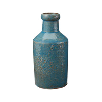 Dimond Home by Dimond Rustic Milk Bottle in Blue 857083