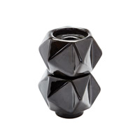 Dimond Home by Dimond Signature Candleholder in Black 857130/S2