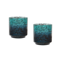 Lazy Susan by Dimond Ombre Hurricane in Green 876028/S2