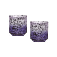 Lazy Susan by Dimond Ombre Hurricane in Purple 876030/S2