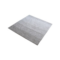 Delight Grey Rug in 6 in. Square, Handmade
