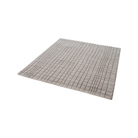 Blockhill Chelsea Grey Rug in 16 in. Square, Handwoven
