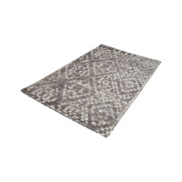 Darcie Iron Ore Grey & Cream Rug in Extra Large