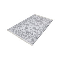 Harappa Grey Rug in Extra Large