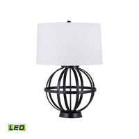 Iron Wire Sphere 30 inch 9.5 watt Oil Rubbed Bronze Table Lamp Portable Light in LED
