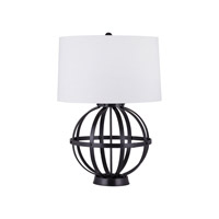 Iron Wire Sphere 30 inch 150 watt Oil Rubbed Bronze Table Lamp Portable Light in Incandescent