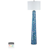 Aphrodisia 62 inch 60 watt Turquoise Mosaic Floor Lamp Portable Light
