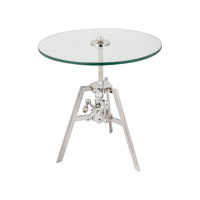 Lazy Susan by Dimond Lighting Tripod Side Table in Nickel 8984-001