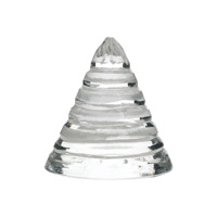 Lazy Susan by Dimond Lighting Small Sliced Glass Cone 8985-062