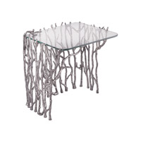 Dimond Home Silvered Sticks Side Table in Antique Nickel 8987-005