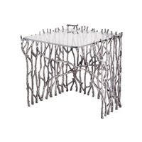 Dimond Home Silvered Sticks Side Table in Antique Nickel 8987-006