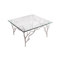 Metropolitan 32 X 32 inch Polished Nickel Table Home Decor