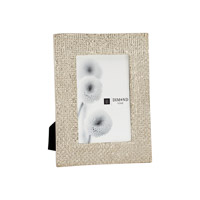 Lazy Susan by Dimond Lighting Ripple Texture Photo Frame in Silver Plate 8988-012