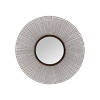 Lazy Susan by Dimond Lighting Wire Wall Mirror in Aged Iron 8990-014