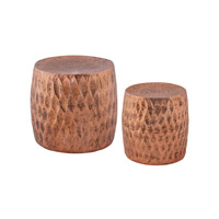 Dimond Djembe Stool in Copper 8990-030/S2