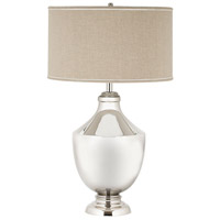 Massive 35 inch Brass Urn Table Lamp Portable Light