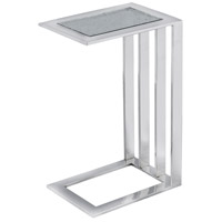 Zuri 14 X 10 inch Polished Nickel Accent Table Home Decor