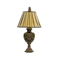Dimond Lighting French Pierce 1 Light Table Lamp in Bayard Bronze 91-243