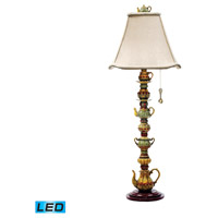 Dimond Lighting Tea Service Candlestick 1 Light Table Lamp in Burwell 91-253-LED