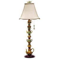 Dimond Lighting Tea Service Candlestick 1 Light Table Lamp in Burwell 91-253