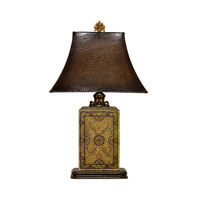 Dimond Lighting Embossed Block 1 Light Table Lamp in Elmsford 91-316 photo thumbnail