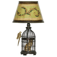 Dimond Lighting Trading Places 1 Light Table Lamp in Bronze 91-620