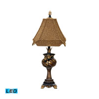 Dimond Lighting Cristobal Compote 1 Light Table Lamp in Cambridge Bronze 91-982-LED