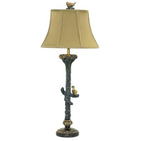 Bird On Branch 14 inch 100 watt Table Lamp Portable Light in Incandescent
