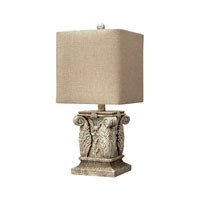 Dimond Lighting Wymore 1 Light Table Lamp in Vintage White 93-10014