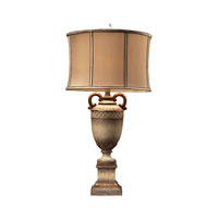 Dimond Lighting Stromburg 1 Light Table Lamp in Sussex Stone With Gold 93-10016